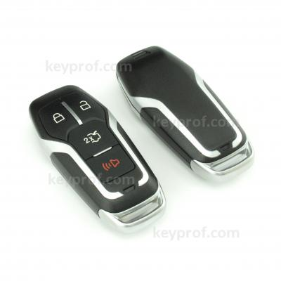 Ford 4-button smartkey shell