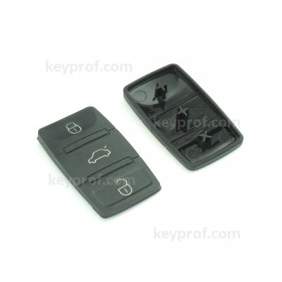Skoda 3-button carkey panel