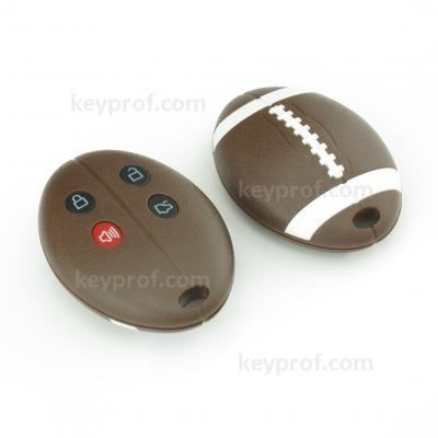 Ford 4-button remote control shell