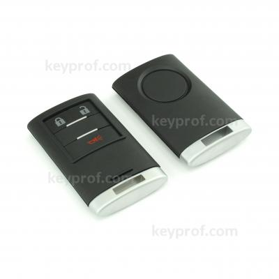 Cadillac 3-button smartkey shell