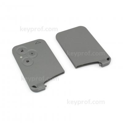 Renault 3-button smartcard shell
