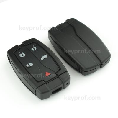 Land Rover 4+1 button smartkey shell